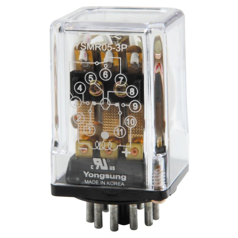 中间继电器YSMR05-3P DC220V